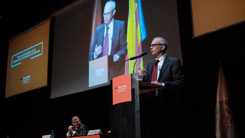 Acto de graduación de la Universidad Internacional de Valencia
