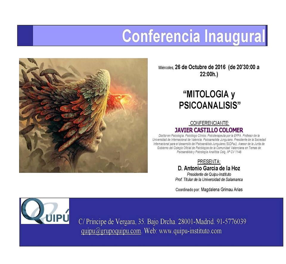 Conferencia en el instituto Quipú