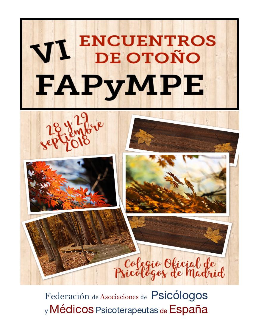 VI Encuentros de otoño – FAPyMPE